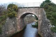 Rosskeen Burn and railway bridge