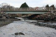 Rosskeen Burn and two bridges