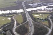 Approach to Friarton Bridge