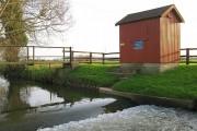River Sheppey flow measuring station