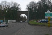 Old Railway Bridge and Car Park