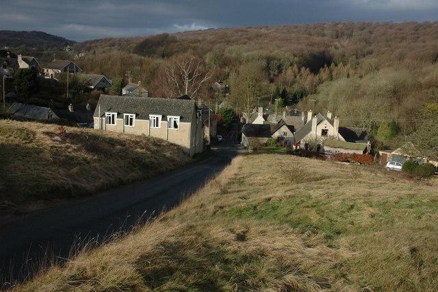 Cranham viewed from the east