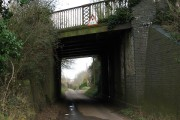 Railway bridge across Mill Road