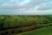 Farmland from the rail viaduct