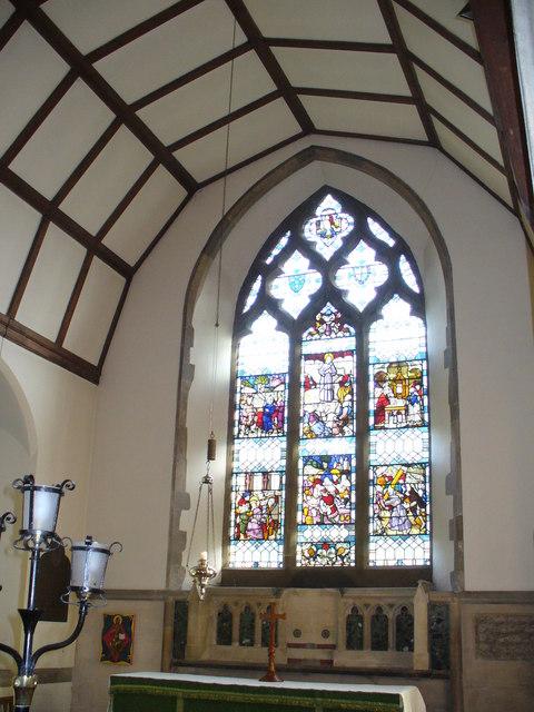 St Nicholas, East Window