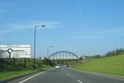 Foot Bridge Near Biddick Hall Roundabout