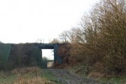 Disused rail bridge