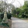 Oldway mansion, Paignton, ancient lamp post