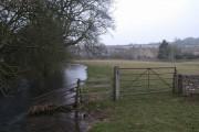River Churn near Baunton