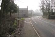Entering Alport Village