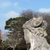 Sphinx head, Oldway Mansion, Paignton