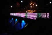 Bothwell Bridge at Night