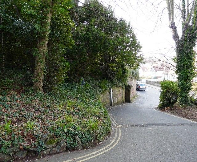 Rear exit, Oldway Mansion, Paignton