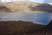 Across Loch Maree to Letterewe