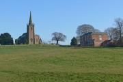 St Mary Magdalene Church and Peckleton Hall