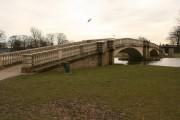 Footbridge over the lake, East Park , Hull
