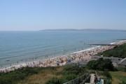 The beach at Alum Chine
