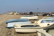 Boats on Seaford Beach
