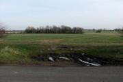 View across field east of Watton Road
