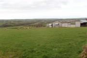 Kitleigh farm with sheep
