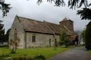 Church of St Nicholas at Peopleton.