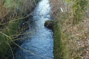 River Ottery at Otterham Mill