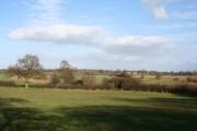 View east near Sicily Oak Farm
