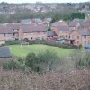 Modern houses at Doseley.