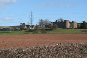 Farmland near Pembridge Castle