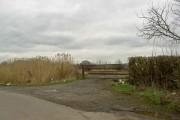 Gate to railway