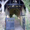 Lychgate close-up, Wilstone Cemetery