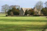 Farmland beside the church, Nuneham Courtenay