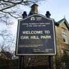 Oak Hill Park, Sign