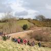 Crowcombe: footpath crossing