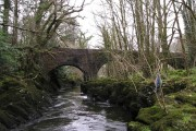 River Teifi and Henllan Bridge