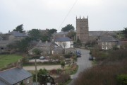 Zennor from the bus stop