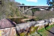 A76 bridge over the River Ayr