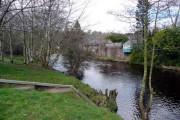 Riverside housing at Catrine