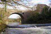Allt-y-Cafan Bridge and Weir