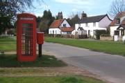 Village scene, Tostock