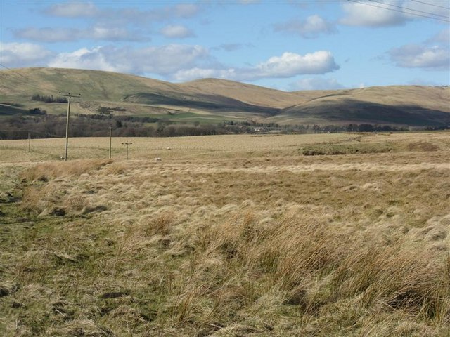 Harlaw Muir, and the North Esk Valley