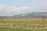 Agricultural scene in the vale of Evesham near Hailes