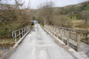 Forestry road bridge over Afon Tarrenig