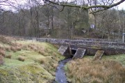 Bridge over Clough Brook at Bottom of the Oven