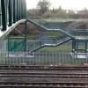 Footbridge steps