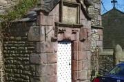 The original Brabins Endowed School, Porch