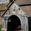 Porch to Bromesberrow Church