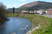 River Ebbw looking upriver