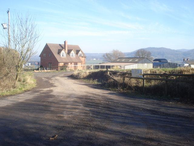 Entrance to Rook Row Farm