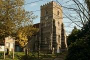 All Saints; the parish church of Purleigh